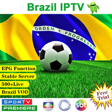 IPTV Brazil Subscription IPTV Android WSTV 500+ Li