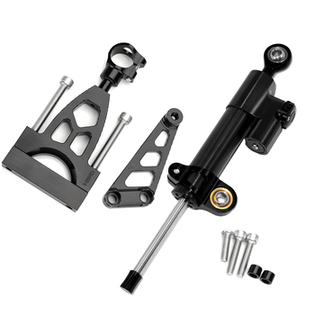Motorcycle Accessories FOR HONDA CB400 CB 400 VTEC CNC Aluminum Steering Damper Stabilizer With Mounting Bracket Adapter Set
