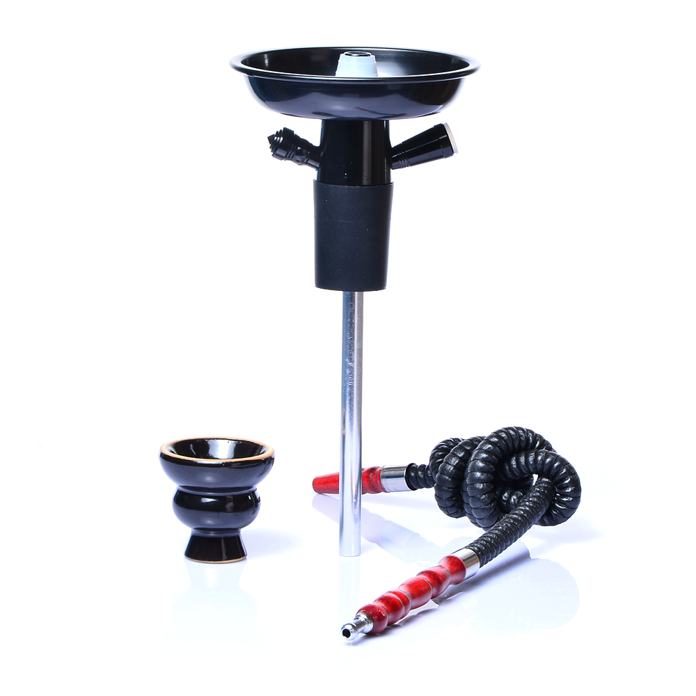 Portable Hookah Shisha Pipe Stem Base Cachimba Sheesha Nargile Sisha Waterpijp With Chicha Bowl Hose Narguile Accessories
