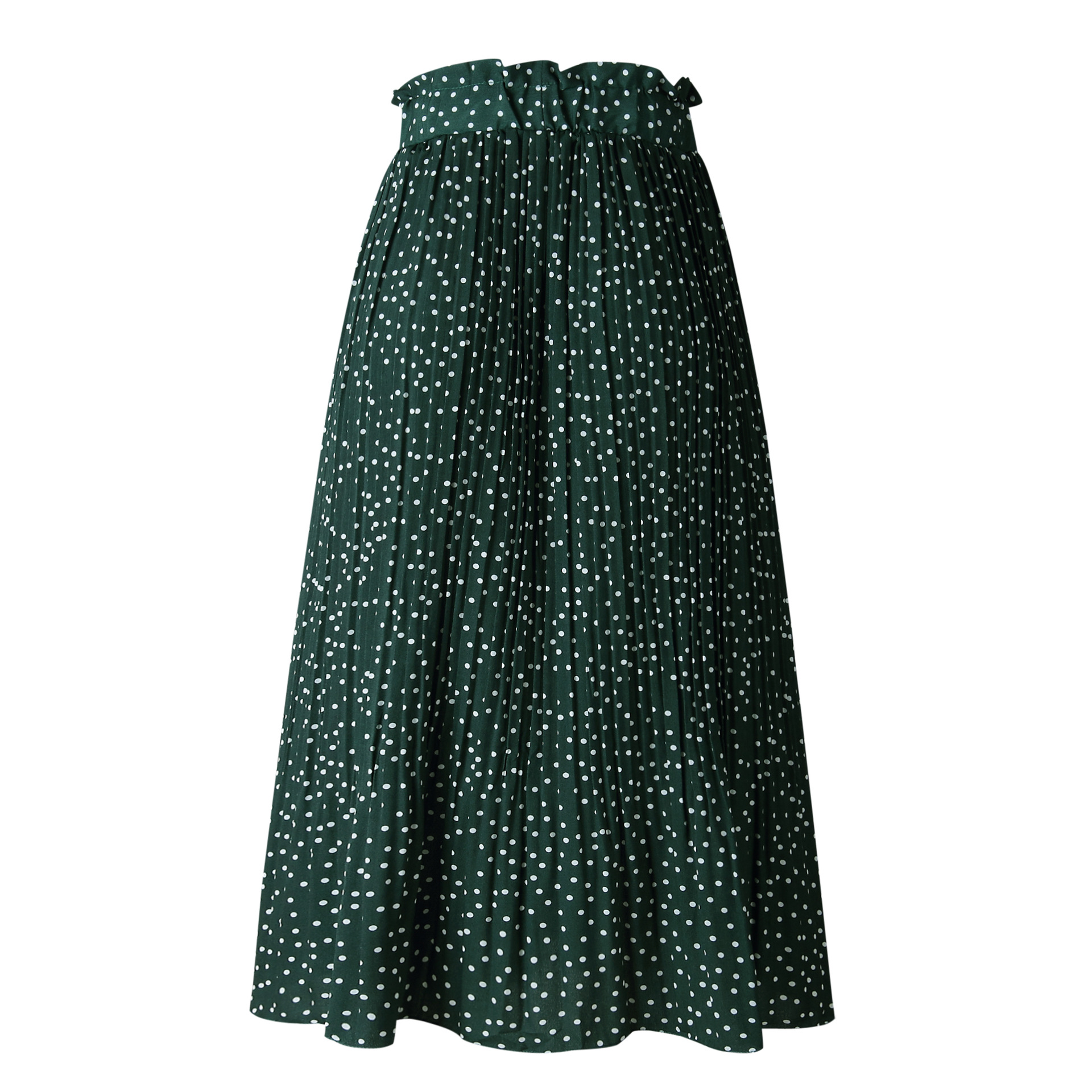H317c4b5481a14142957037007e190f7fv - Summer Casual Chiffon Print Pockets High Waist Pleated Maxi Skirt Womens Long Skirts For Women