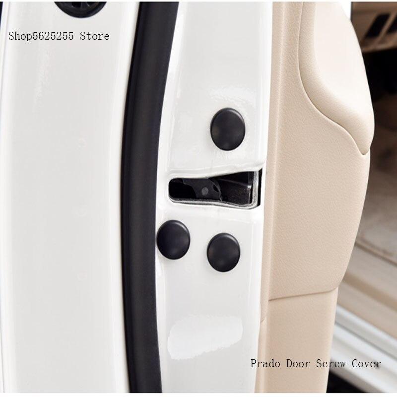 12Pcs Car Door Screw Protection Cap waterproof Anti-embroidery Protector Car Accessories  For Nissan Qashqai J11 J10