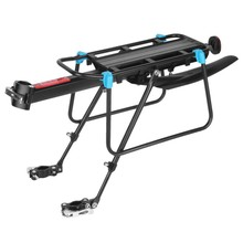 Mountain Bike Rear Seat Frame Quick-Release Bicycle Rear Shelf Man-Carrying Tail Rack Luggage Rack Bicycle Accessories(China)