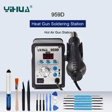 YIHUA Anti-Static LED Digital Display Hot Air Rework Station SMD Soldering Station Constant Temperat