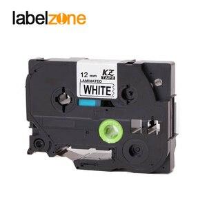 Image 2 - 10 pcs Compatible for brother label tape Tze 231 Tze231 tze 231 P touch label printer Ribbon label maker 12mm*8m Black on white