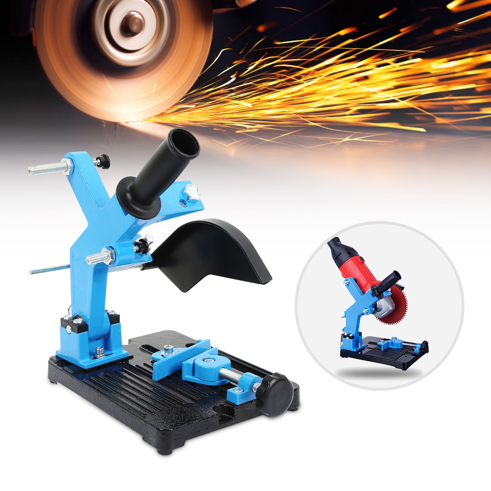 Angle Grinder Stand Angle Grinder Bracket Holder Support For 180-230mm Cutter Angle Grinder Cast Iron Base Power Tool Accessory