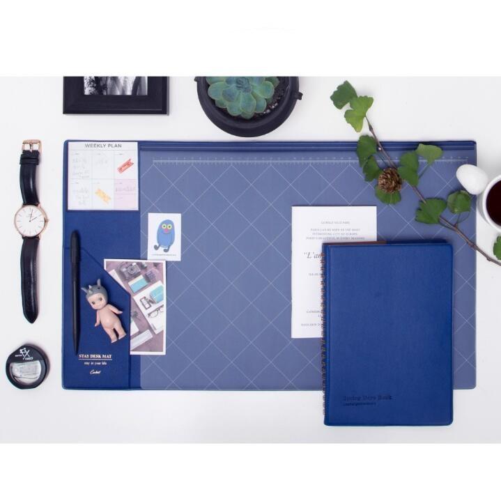 Multifunctional  Fashion Desktop Organizer Pad & Laptop Mouse Pad Thickened Anti-slip  3