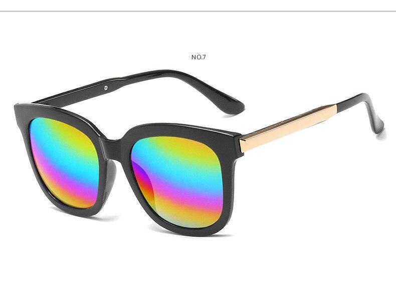 Luxo gato olho óculos de sol feminino