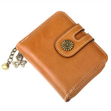 купить Fashion Top Quality Small Wallet PU Matte Leather Purse Short Female Coin Wallet Zipper Clutch Coin Purse Credit Card дешево