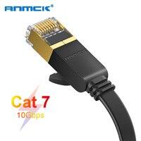 Anmck-Cable Ethernet RJ45 Cat7, Cable Lan UTP CAT 7 RJ 45, Cable de conexión de red para ordenadores de escritorio, ordenador portátil, enrutador de módem