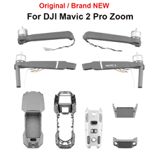 Oryginalna fabrycznie nowa naprawa części do DJI Mavic 2 Pro Zoom zestaw do lądowania ramię mocowanie gimbalowe górna dolna pokrywa środkowa rama części