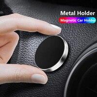 Soporte magnético de teléfono de coche 360 soporte en el coche para IPhone 7 XR X Xiaomi soporte magnético para pared de teléfono móvil soporte para GPS Soportes de escritorio para teléfono     -