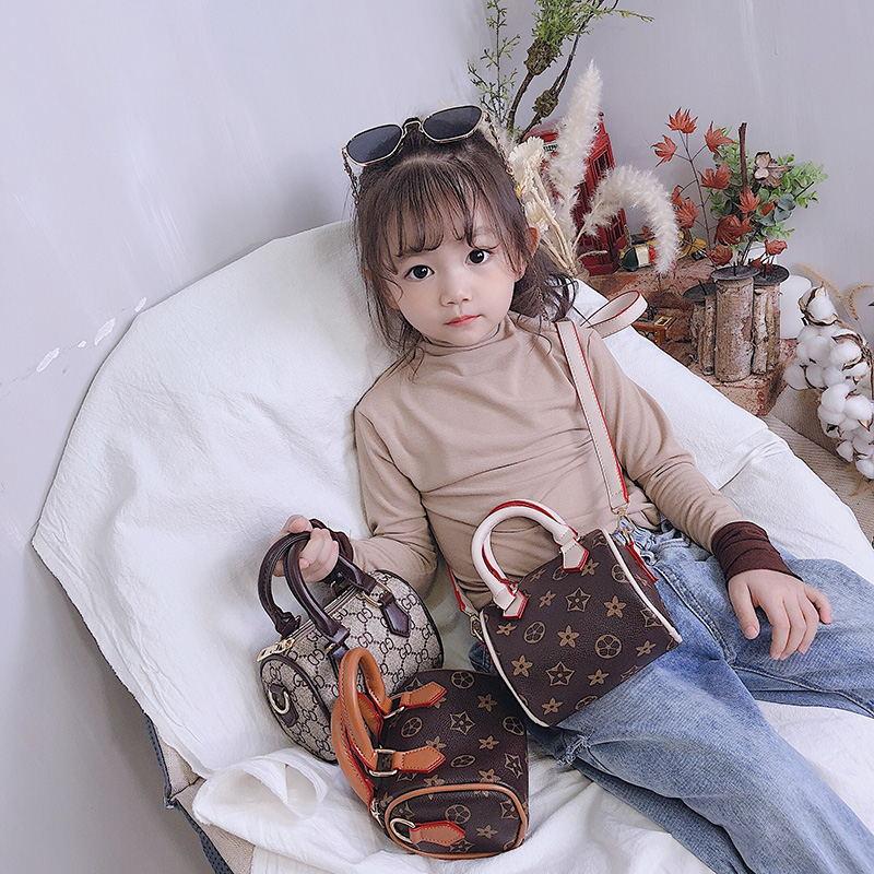 2019 New Style CHILDREN'S Bag Korean-style Fashion Boston Bag Pillow Bag Versatile Shoulder Bag/ Hand Bag Shoulder Parent And Ch