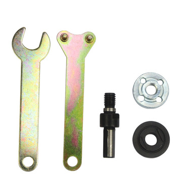 6mm 10mm Drill Conversion Angle Grinder Connecting Rod For Cutting Disc Polishing Wheel Metal Handle Bracket Adapter