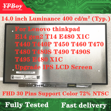 Lcd-Screen T440 Thinkpad E14 T480 T460 Lenovo T450 L14 T490S T470 for Gen2/T14/L14/..