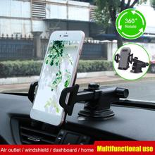 Car Phone Mount Dashboard Cell Phone Holder for Car Washable Strong Sticky Suction Pad One Button Release Compatible Cars