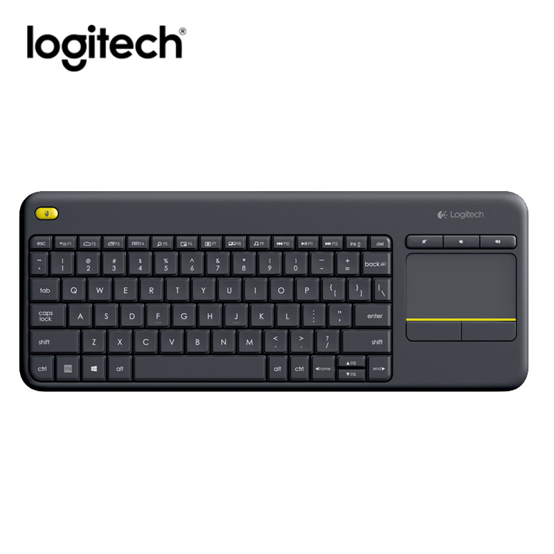 Logitech Keyboard K400 Plus Wireless Touch Keyboard W/ Touchpad ForPC Laptop Android Smart TV HTPC
