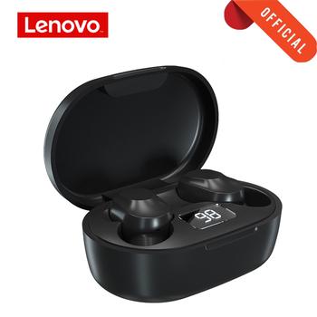 Lenovo XT91 bezprzewodowe słuchawki Bluetooth 5 0 sportowe słuchawki dotykowy zestaw słuchawkowy z 300mAh wskaźnik ładowania LED wskaźnik baterii tanie i dobre opinie douszne Dynamiczny CN (pochodzenie) wireless 115dB Do gier wideo do telefonu komórkowego Słuchawki HiFi NONE instrukcja obsługi