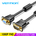Vention VGA Extension Cable 1m 1.5m 2m 3m High Quality Male to Female Cable Extender VGA Cable for Computer Projector Monitor 5m
