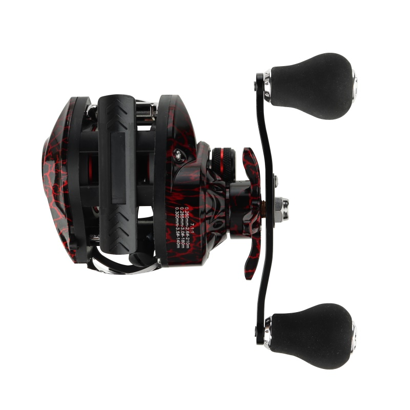 GUGUFISH Left/Right Hand Baitcasting Fishing Reel 7.2:1 Bait Casting Fishing Wheel With Magnetic Brake Carp Carretilha Pesca 4