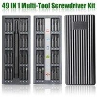 Precision Screwdriver Set 49 in 1 with Alloy Case Magnetic  Screwdriver Electronics Screwdriver Bits Set Repair Tool Kit|Screwdriver| |  -