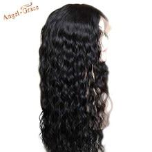 Perruque Lace Front Wig ondulée brésilienne naturelle – Angel Grace, cheveux Remy, 13x4, 13x6, pre-plucked, avec Baby Hair