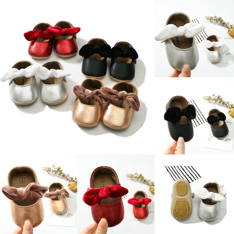 Infant Spanish Babygirls Soft Bottom Toodler Shoes Baby Red Black Shoes Autumn Princess Shoes Newborn Shoes Infant Shoes