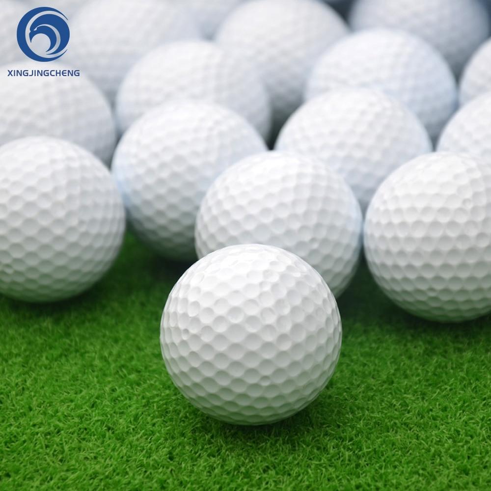 Golf Practice Balls Dent Resistant Training Balls Golf For Driving Range Swing Practice Outdoor Indoor Home Office Putting