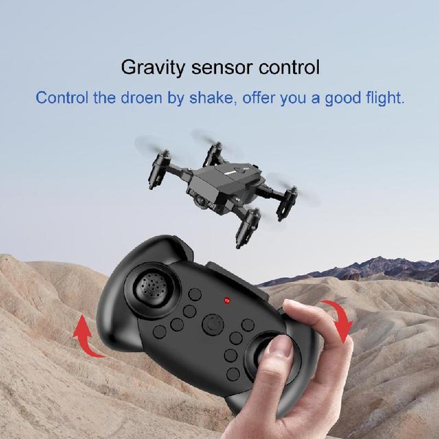 2020 New F86 Mini Drone Hd 1080P Camera Wifi Fpv Foldable Quadcopter Gravity Sensor 360 Degree Roll Fixed Pressure Rc Drone Toy
