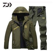 Traje de pesca para hombre, ropa fina de pesca con capucha, deportes, senderismo, chaqueta de pesca, ropa de exterior, ropa de pesca