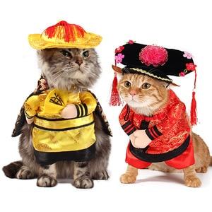 Image 4 - Grappige Hond Kat Kostuums Boxer Arts Verpleegkundige Cosplay Pak Huisdier Kleding Halloween Uniform Kleding Voor Puppy Honden Kostuum Voor Een kat