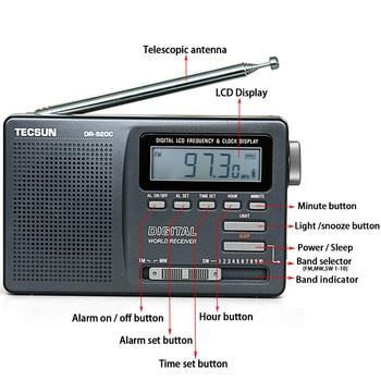 Радиоприемник TECSUN DR-920C, FM/MW/SW 4