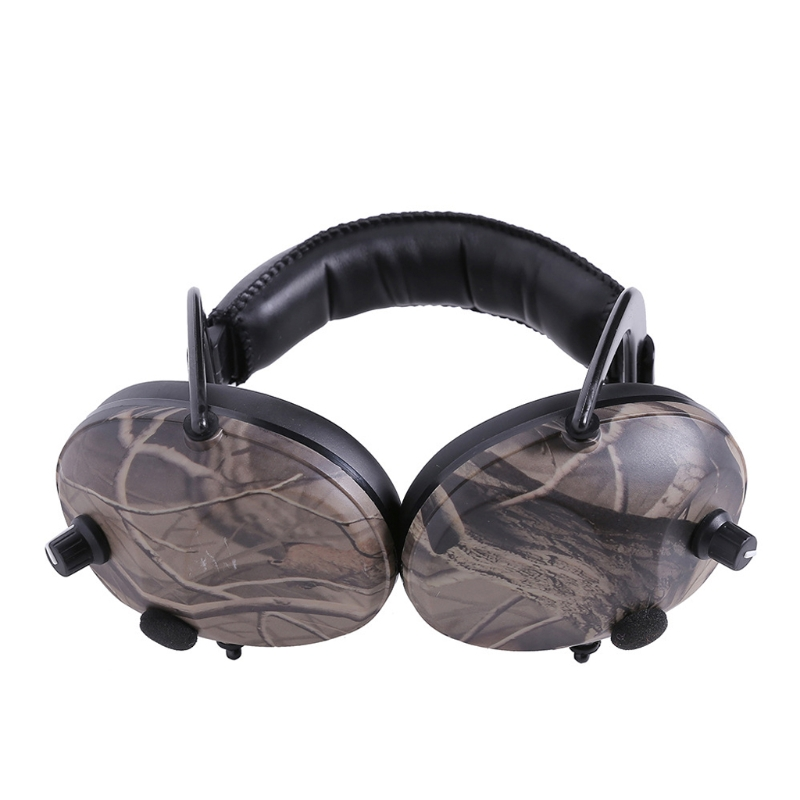 Electronic Ear Protection Shooting Hunting Ear Muff Print Tactical Headset Hearing Ear Protector Ear MuffsW91A