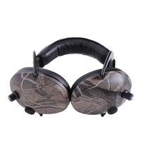Proteção da orelha eletrônica tiro caça orelha muff impressão tático fone de ouvido ouvido ouvido ouvido protetor ouvido ouvido muffsw91a|Protetor auricular| |  -