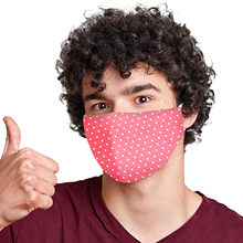 Adulto ciclismo boca máscara lavável reusável dustproof algodão máscara com polka dot e-ements impresso ao ar livre proteger mascarilla