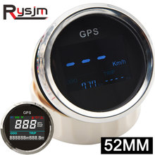 Gps-Antenna Odometer-Meter Boat Speed-Gauge Marine Motorcycle 52mm Gps Digital ATV Mini