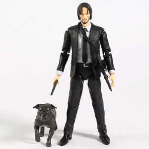 Image 4 - MAFEX 085 John Wick Chapter 2 Keanu Reeves PVC Action Figure Collectible Model Toy Figurine