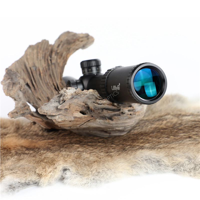 Hunting Riflescope Optical Sight BJ 3 12X40 FFP Tactical Riflescope with Mil Dot Reticle with Illumination Rifle scope in Riflescopes from Sports Entertainment