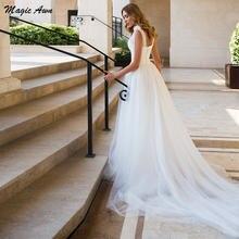 Женское свадебное платье в стиле бохо magic awn изящное пляжное