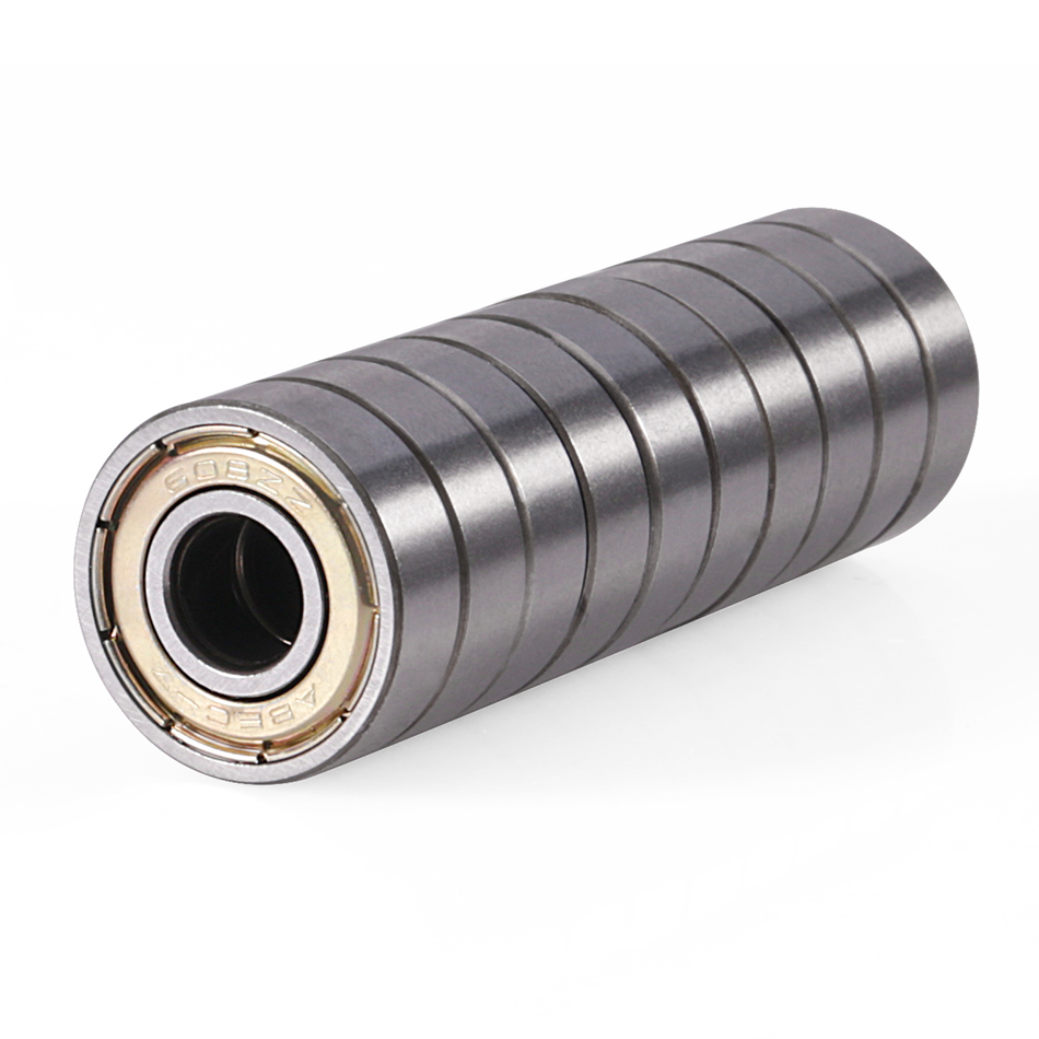 608ZZ Deep Groove Ball Bearing, Carbon Steel Bearing, Double Shield 608-2Z 80018, 8mm X 22mm X 7mm Chrome Steel Bearing 20/100
