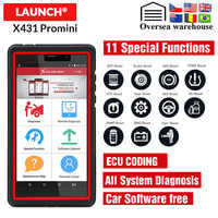 Launch X431 Pro Mini Auto Diagnostic Tool Support WiFi/Bluetooth Full Systems Mini Launch X431 pro mini 2 years free update