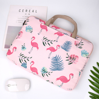 Flamingos 15.6 inch Computer bag Fashion Handbag notebook 13.3 inch Laptop bag Briefcase Multi function Laptop bags for women