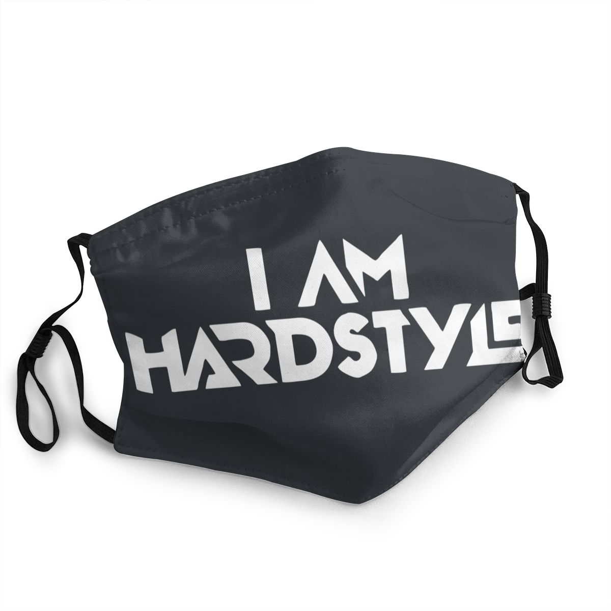 I Am Hardstyle Non-Disposable Mouth Face Mask Music Defqon Hardcore Anti Haze Dustproof Protection Mask Respirator Muffle