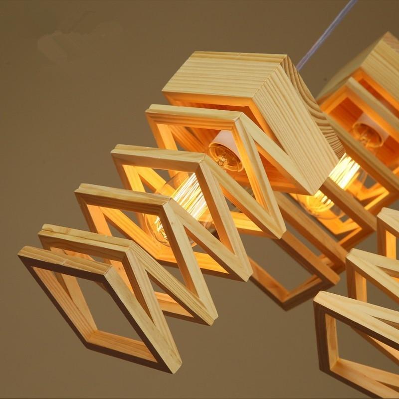 nordic lampadas retro pingente luzes de madeira 04