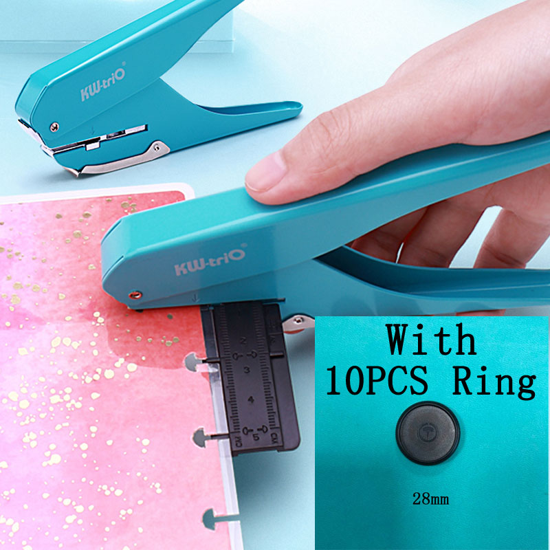 1pc Creative Mushroom Hole Puncher DIY Paper Cutter T-type Puncher Loose Leaf Paper-cut Punching Machine Offices School Supplies