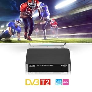 Image 4 - New HD 1080P TV Box DVB T DVB T2 Tuner Receiver Satellite Decoder TV Tuner DVB T2 USB2.0 For Europe Russia Czech Republic