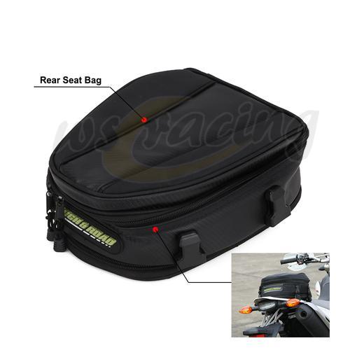 Сумка для заднего сиденья мотоцикла, водонепроницаемая сумка для езды на мотоцикле, багаж для бега, скалолазания, спортивная сумка