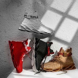 Image 2 - Klasik spor ayakkabı erkekler için yüksek kaliteli moda stil erkek rahat ayakkabılar rahat örgü açık yürüyüş koşu ayakkabıları Tenis Masculino