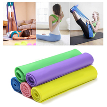 1 5m Fitness Exercise Resistance Bands Rubber Yoga Elastic Band Resistance Band Loop Rubber Power band Loops For Gym Training cheap Unisex Comprehensive Fitness Exercise Pull Rope 1 5m * 1 5m * 0 35mm natural latex fitness body fitness equipment health massage running sports