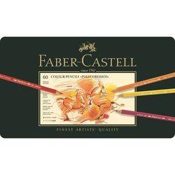 FABER CASTELL Polychromos Künstler Qualität Farbe Bleistifte 60 Set Zinn Fall