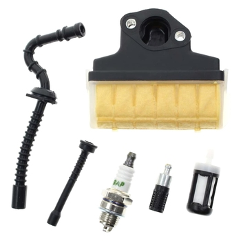 Air Filter Spark Plug Fuel/Oil Line Filter for STIHL 021 023 025 MS210 MS230 MS250 Chainsaw switch shaft choke rod kit for stihl ms250 ms230 ms210 025 023 021 ms 250 230 210 chainsaw parts